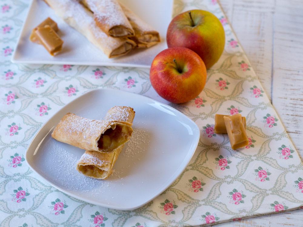 Karamell-Apfeltaschen zum Küchenklüngel