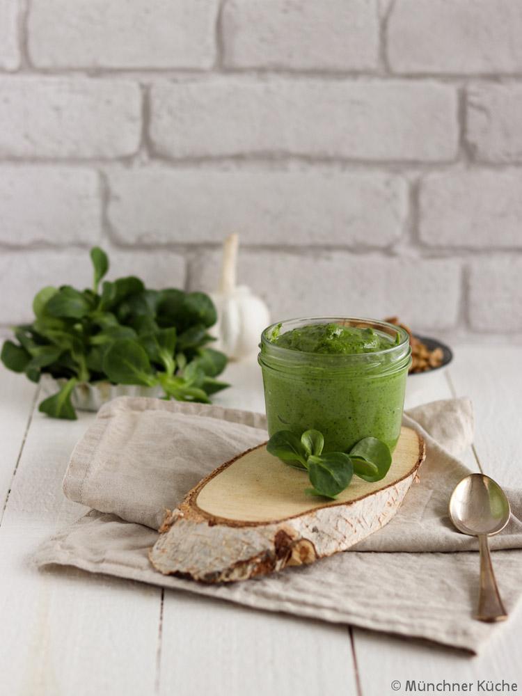 Feldsalat-Pesto von Ines