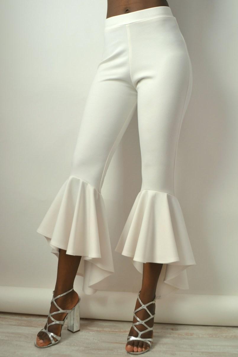 Daniela Tabois Bell Ruffle Pants