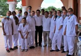 #DARsalud llegó a Temozón con la jornada internacional de Salud Bucal