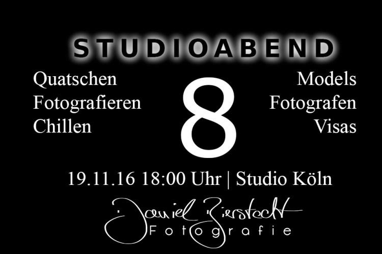 Poster Studioabend 8