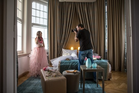 Making Of BTS Hotel Fashion Project