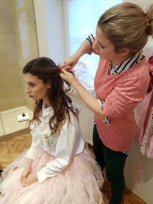 Making Of BTS Hotel Fashion Project by Nathalie Schulz