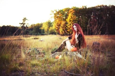 Ginevra Malin in der Heide