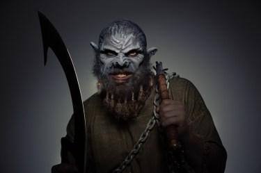 Markus Herzog spielt den Ork Brukar