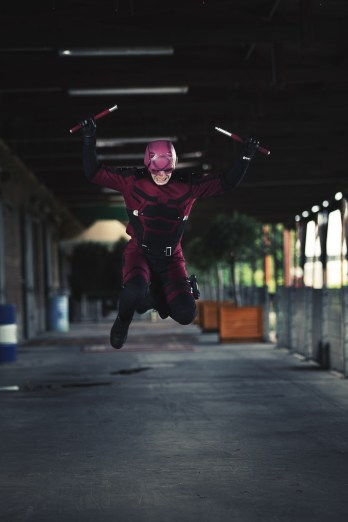 Street Level Heroes - Daredevil Cosplay