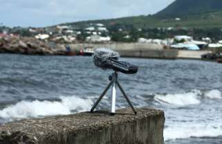 beach recording - st kitts