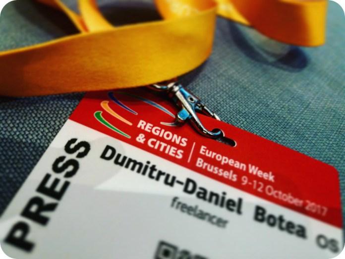 badge pentru inca 2 zile la Bruxelles