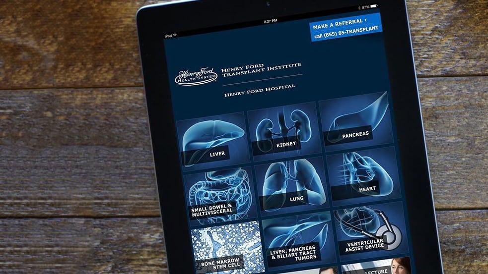 Henry Ford Transplant App
