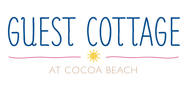 Guest Cottage Cocoa Beach, FL Branding Logo