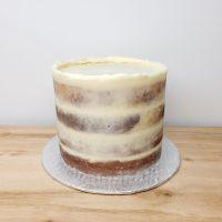 Gâteau naked à la vanille- Nake cake vanilla