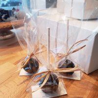 Cake Pop au chocolat emballé individuellement-cakepop chocolate