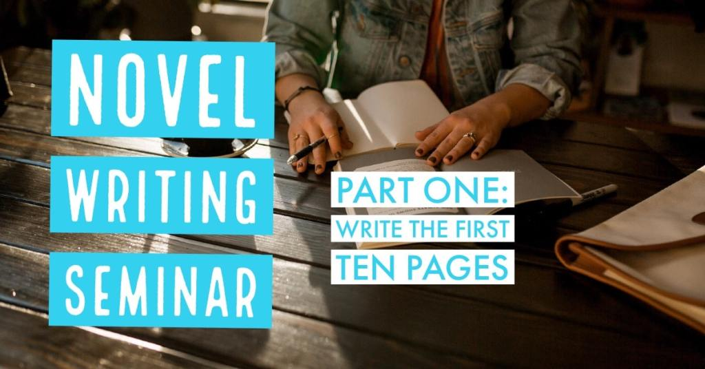 Plan, schedule, and begin your novel with this free course