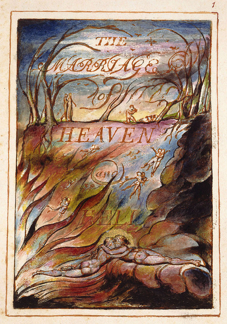 Marriage of Heaven and Hell -- transform your artistic life with William Blake