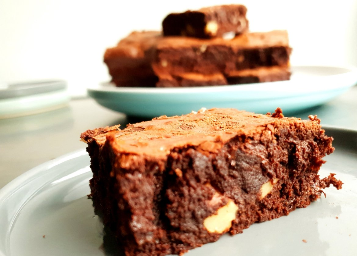 gooey chocolate brownie
