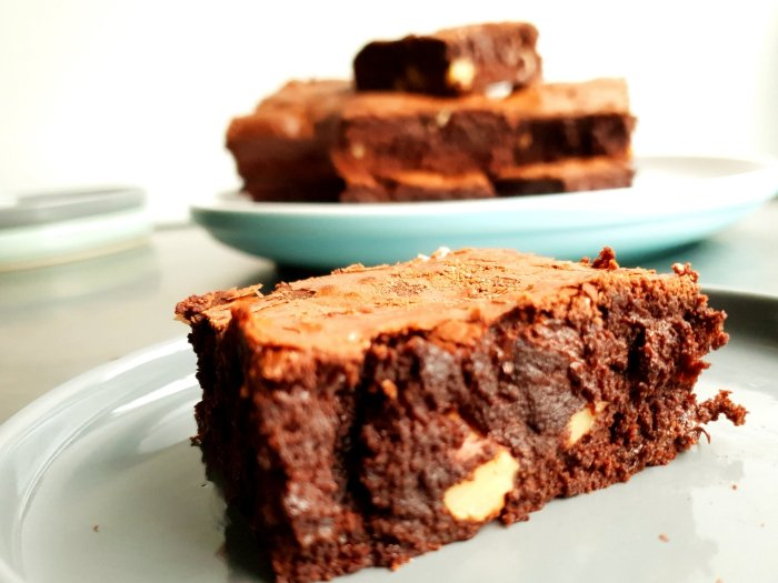 gooey chocolate brownie