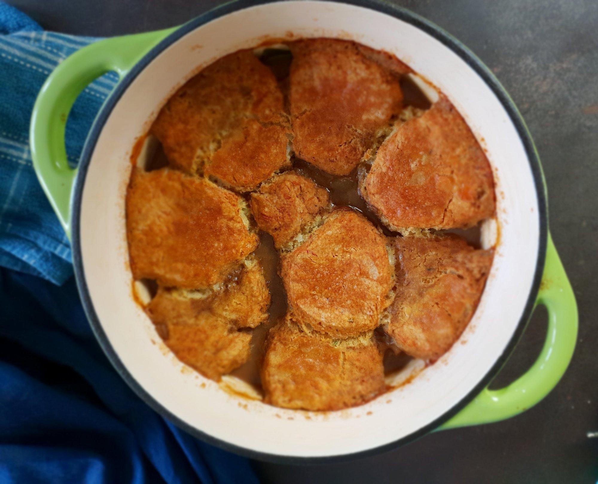 beef & guinness cobbler stew