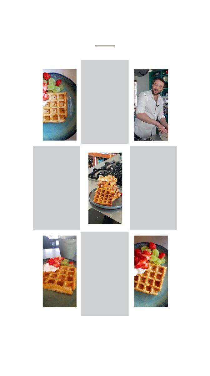 Sweet Potato waffle recipe