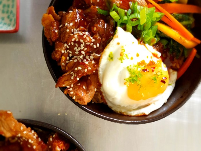 Asian Beef Rice Bowl