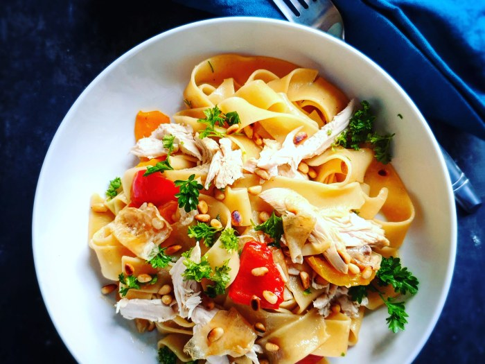 Chicken Pappardelle
