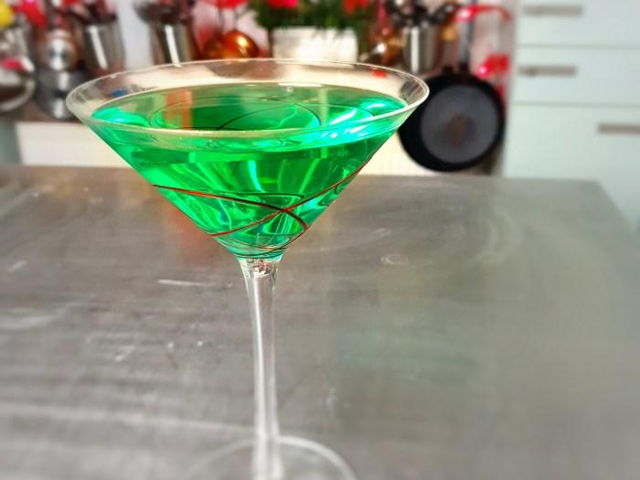 gingerbread apple martini