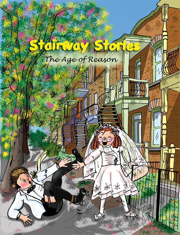 Stairway Stories. Comic Books by Danile Archambault