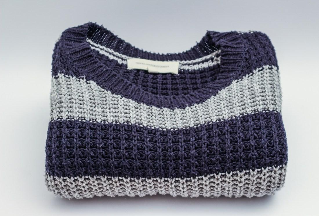 blusa de tricô