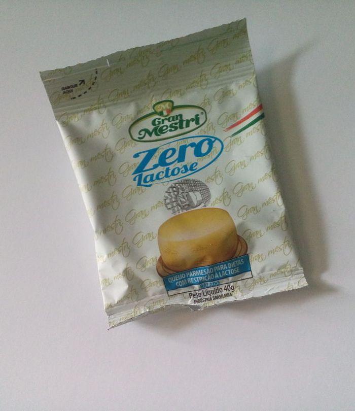 Queijo zero lactose(parmesão ralado) Gran Mestri