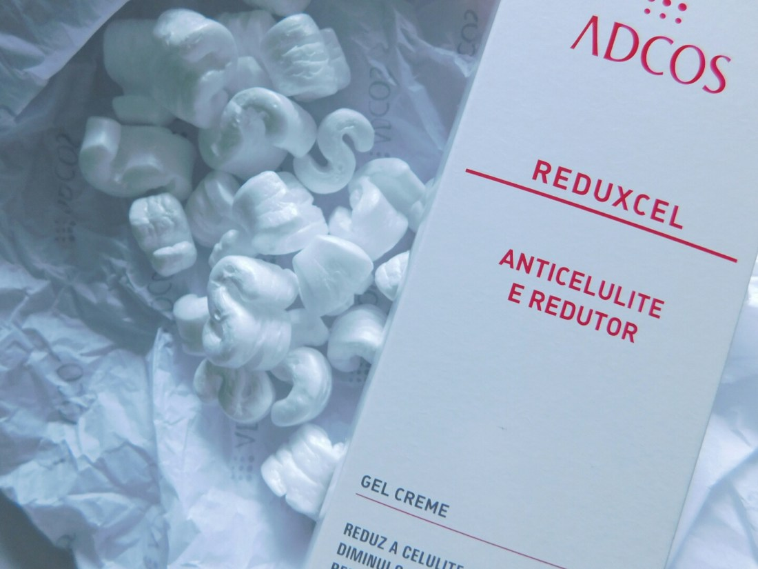 Emblagem do Adcos Reduxcel - gel contra celulite