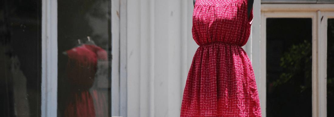 vestido sem costura