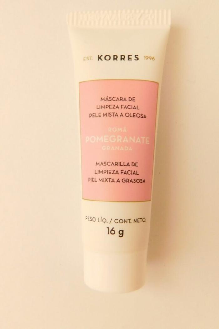 Máscara de limpeza facial para pele oleosa da Korres