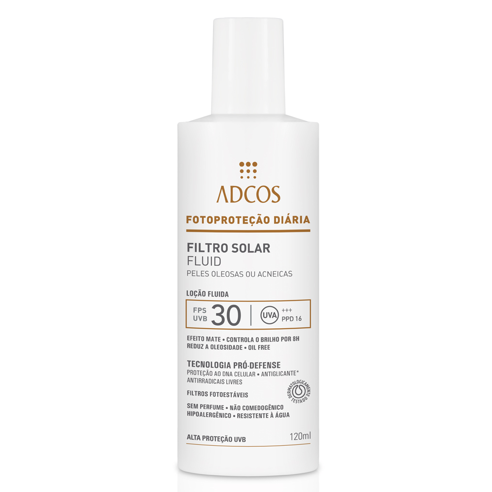 filtro solar da Adcos