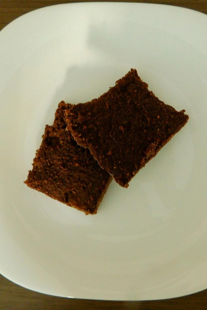 Brownie sem glúten e com biomassa de banana verde