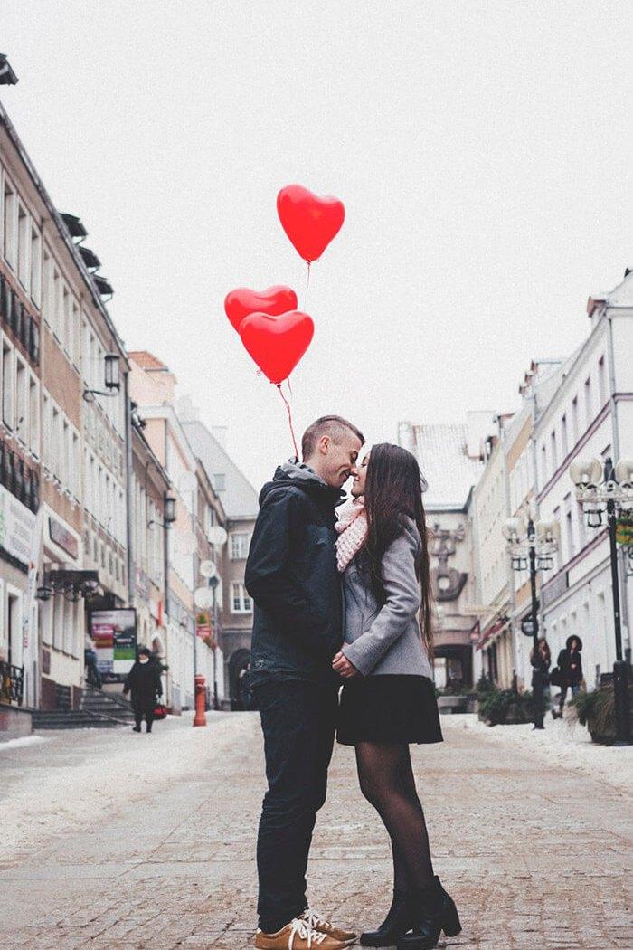 Pequenas porções de amor e relacionamentos felizes