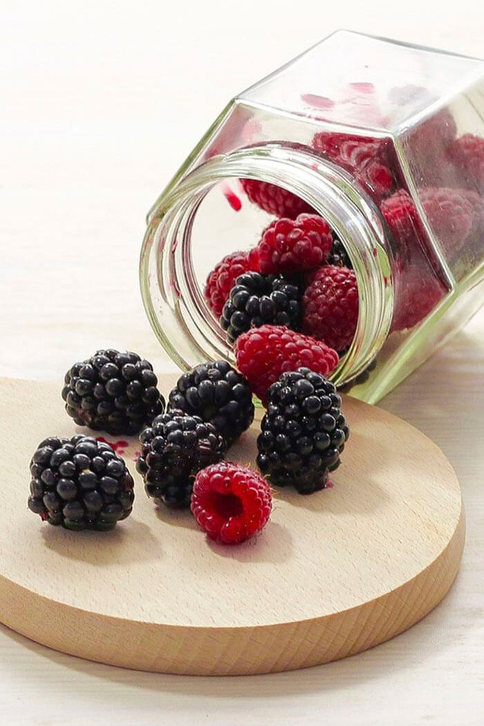 Por mais frutas vermelhas na nossa dieta