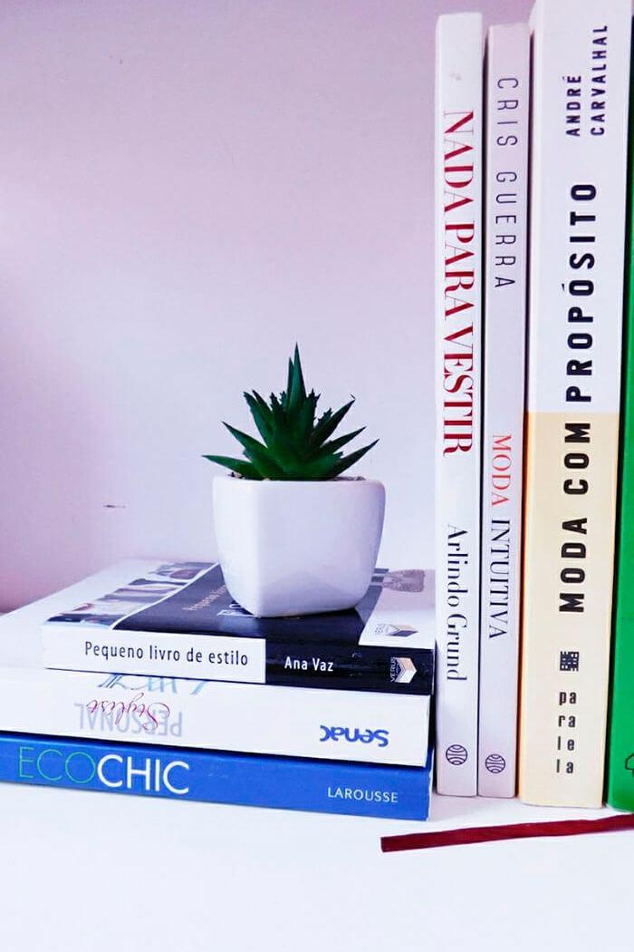 Os livros de moda e estilo que eu tenho aqui em casa
