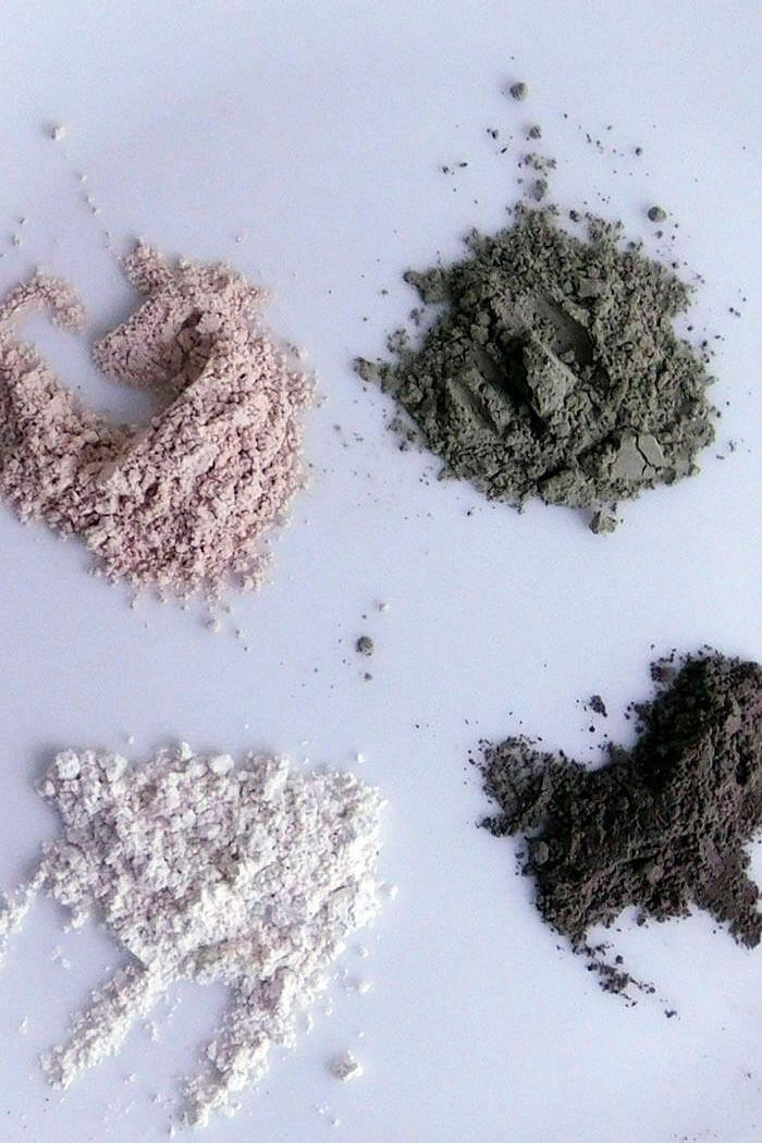 Máscaras de argila e suas propriedades (e como eu uso)