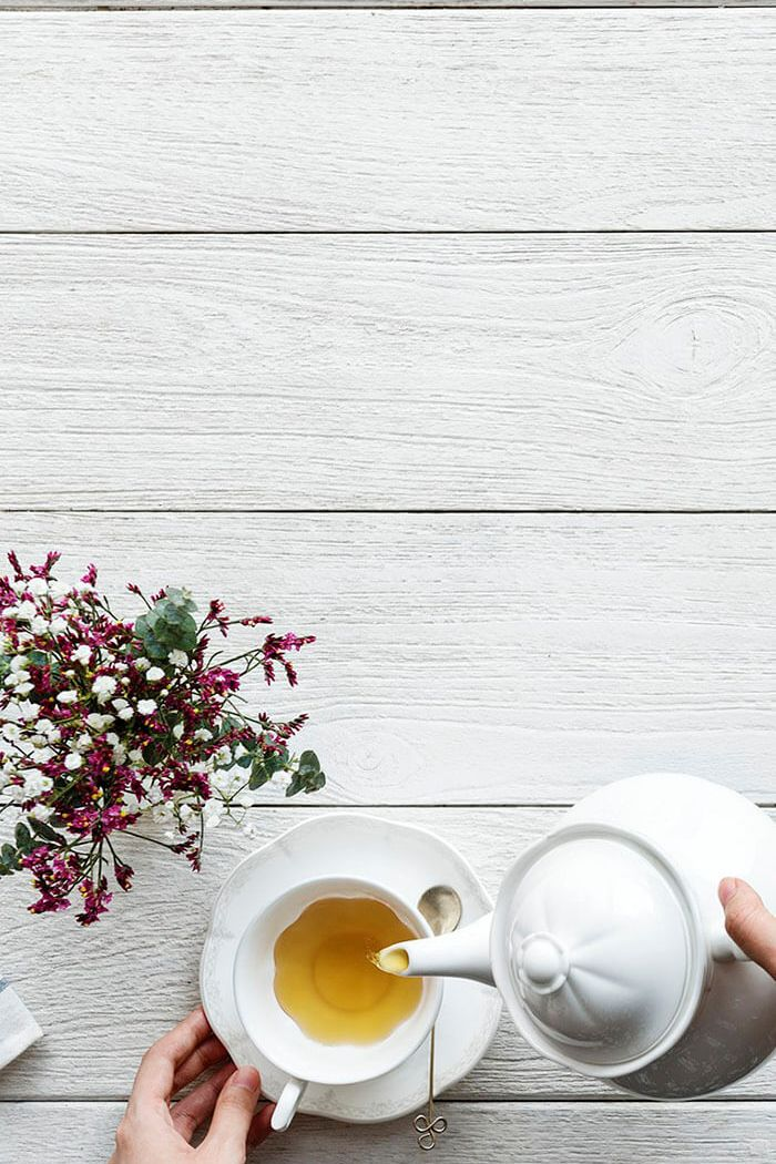 Que tal uma xícara de chá?