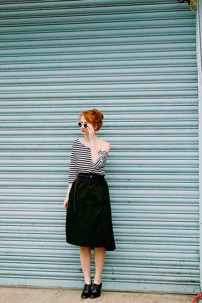 Como usar roupas justas e roupas largas