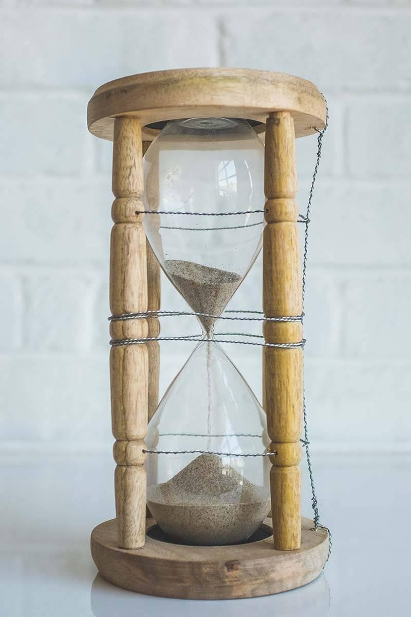 Relógio ampulheta