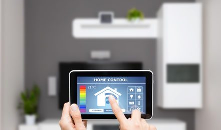 Future of the Internet of Things - Remote home control system.