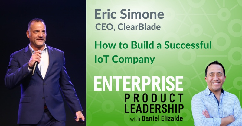 EnterpriseProduct Leadership - How to build an IoT company 800