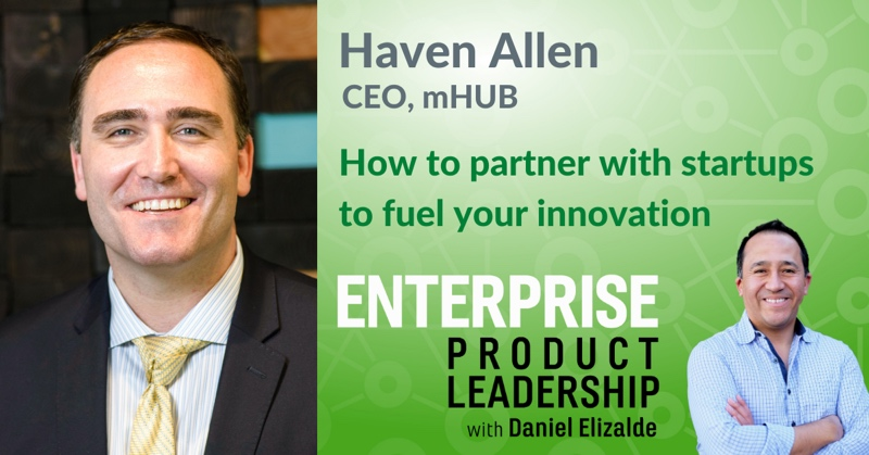 Partner with startups - Enterprise Product Leadership