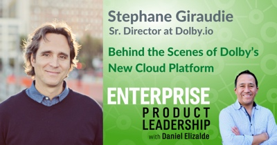 Behind the Scenes of Dolby's New Cloud Platform with Stephane Giraudie