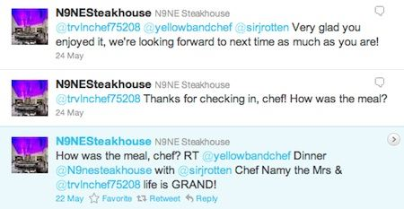 N9NE Steakhouse