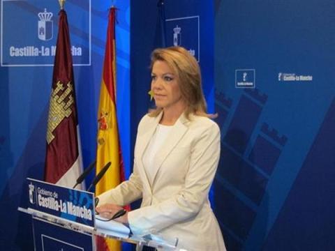 Error protocolario banderas Castilla la Mancha