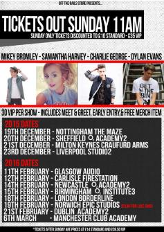 Tour dates!
