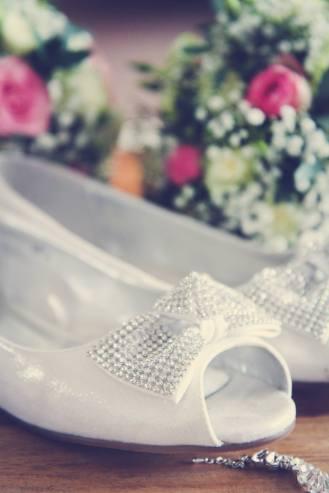Wedding shoes, photography, daniel fletcher photography