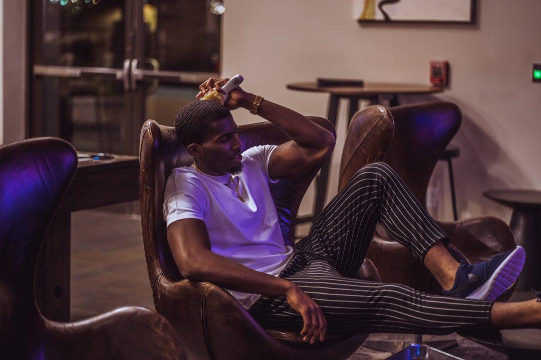 Men's Fashion, Belle Reine, White T-Shirt, Photo Editing, Photoshop,Commissioner, Commish, Daniel Obiefuna Nwandu, Fondu, Concept Photography, Nigerian Male Model, Actor, Artist, Designer, Reflex Football, RFB