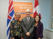 Had a chance to chat with MLAs Judy Darcy and Selina Robinson to talk health care and seniors care in BC